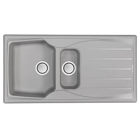 astracast sierra  bowl reversible light grey kitchen