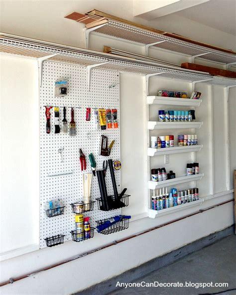 Garage Storage On A Budget • The Budget Decorator