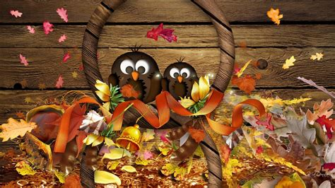 Cute Thanksgiving Backgrounds ·①