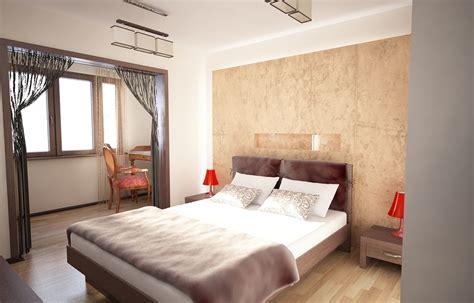 Bilder  3d Interieur Schlafzimmer Beigeweiß 6