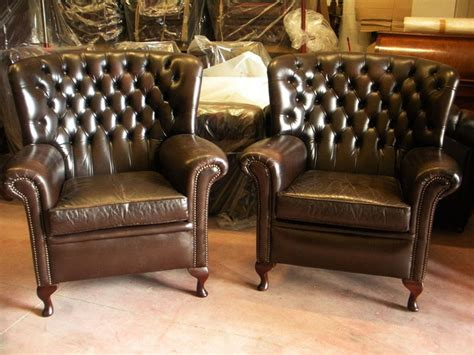 Poltrone Chesterfield Usate