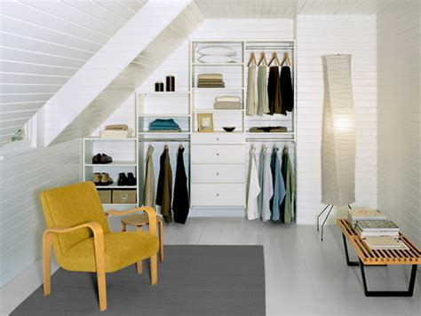 attic closet contemporary closet nashville by