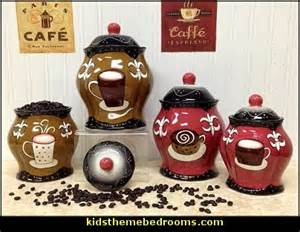 coffee themed kitchen canisters gallery for gt coffee themed kitchen canister sets