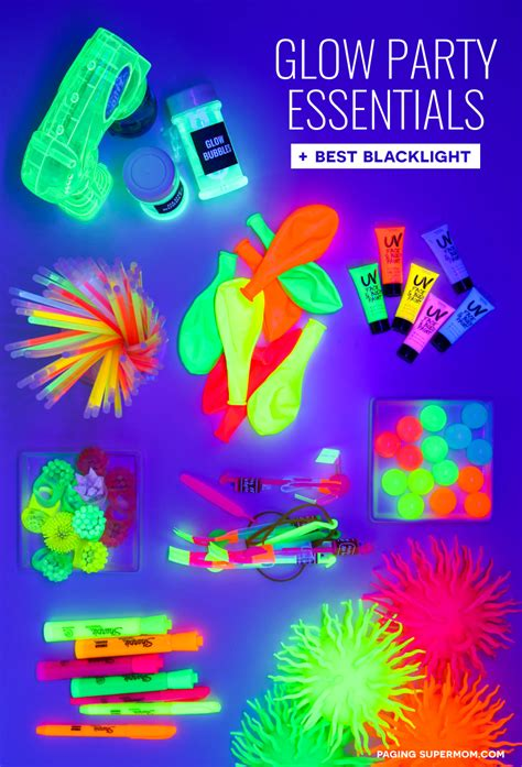 black light glow party glow party ideas ultimate guide how to throw a black