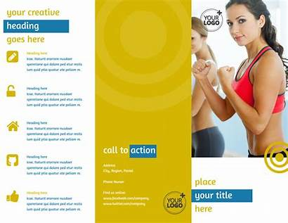 Fitness Brochure Gym Core Template Brochures Templates