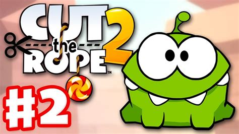 cut the rope 2 gameplay walkthrough part 2 dam 3 ios android