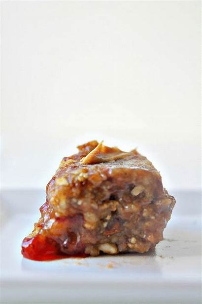 Healthy Butter Bake Peanut Jelly Raw Bars