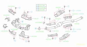 Subaru Forester Converter Complete  Pb001063 Converter Cp