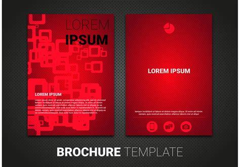 brochure template vector   vectors
