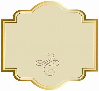 Label Clipart Luxury Labels Transparent Fancy Cigar
