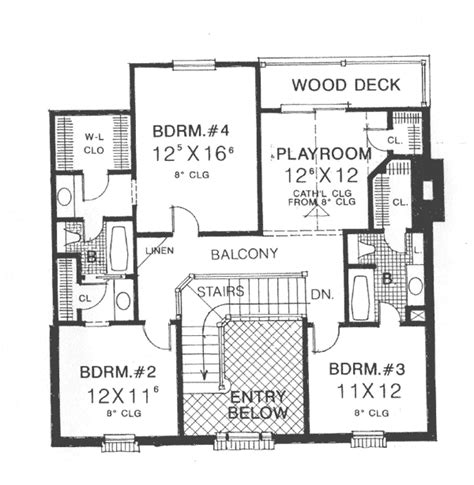 georgian floor plans abraham georgian style home plan 036d 0192 house plans