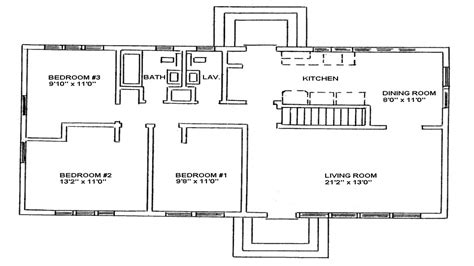 cottage style homes ranch style home floor plan ranch