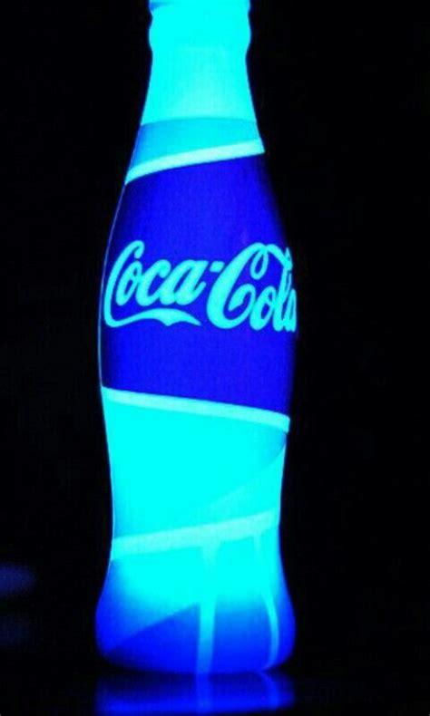 coca cola blue azul fluorescente coca cola pinterest