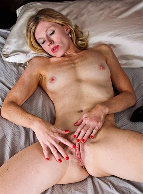 Skinny British Blonde Milf