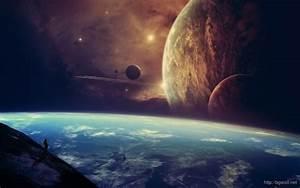 Space Galaxy Earth HD Wallpaper – Background Wallpaper HD