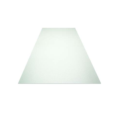 2 ft x 2 ft acrylic clear prismatic lighting panel 20