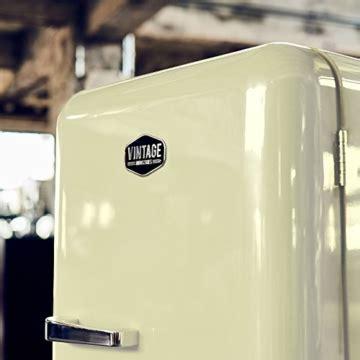 ᐅ vintage industries retro k 252 hlschrank in creme beige ᐅ kaufberatung angebote