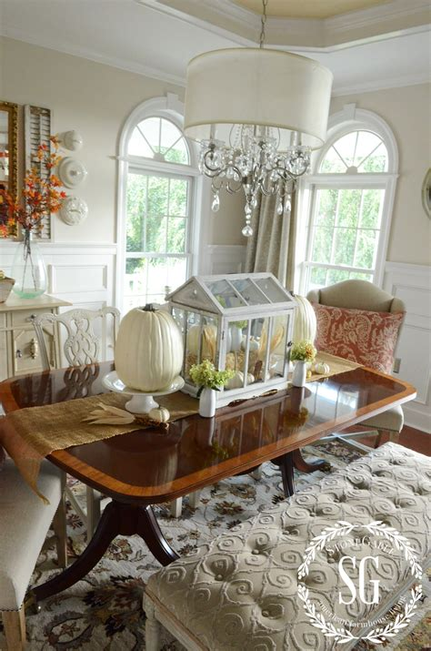 Fall In The Dining Room… The Softer Side