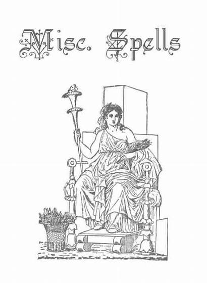 Pages Coloring Shadows Spells Title Wicca Books