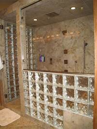 glass shower blocks 7 Useful Tips For Building a Step Down Glass Block Shower Wall