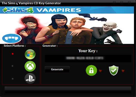 The Sims 4 Vampires Cd Key Generator Gamecrackg