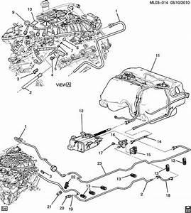 Chevrolet Equinox Hose  Evaporation Emission System  Fuel