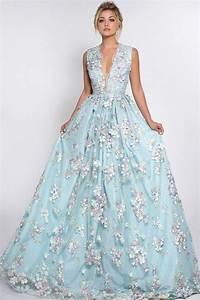 gorgeous floral wedding dresses that inspire happyweddcom With flower applique wedding dress