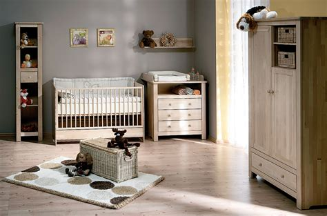 chambre complete de bébé atb nature 5 meubles lit commode armoire 2 portes