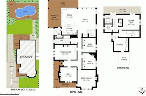 house with 4 bedrooms แปลนบ านสองช น 5 ห องนอน ideas for the house