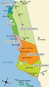 California Central Coast Vacation Ideas and Travel Info
