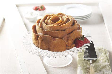 pan cake bundt tube baking edit shape cup rose fluted aluminum flower