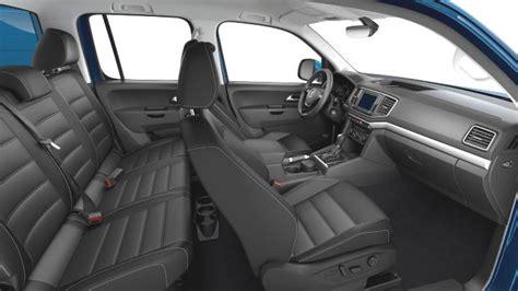 volkswagen amarok  dimensions boot space  interior