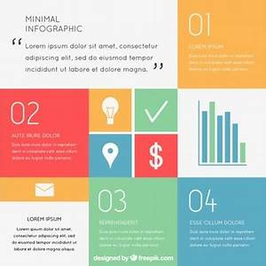 Square infographics Vector   Free Download
