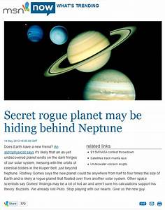 Planet X And American Astronomical Society Cover-up - UFO ...