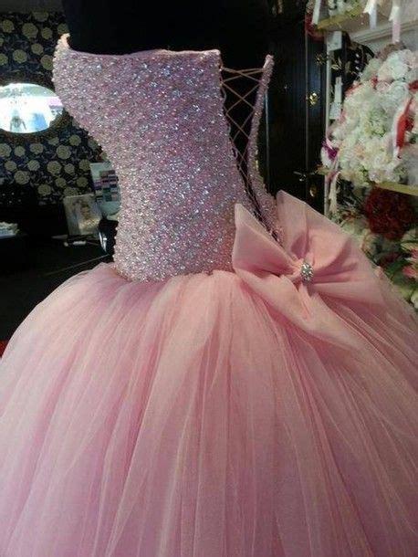 dress prom dress pink dress princess dress ball gown