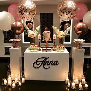 Trending, Rose, Gold, Party, Decorations