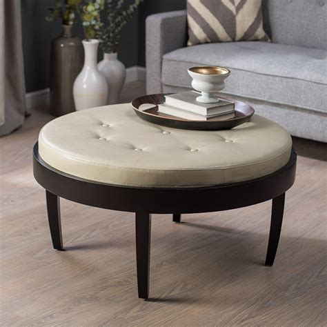 cushion ottoman coffee table citation coffee table ottoman with removable cushion