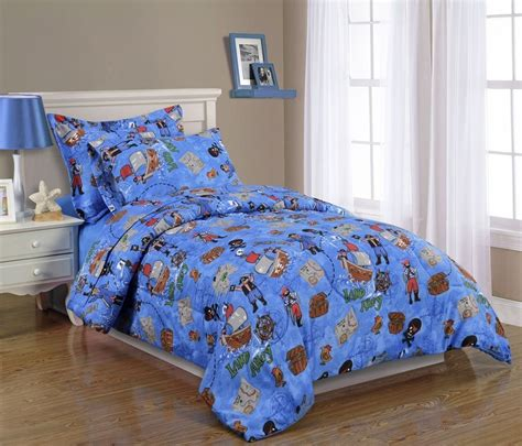 boys kids bedding twin comforter set pirates