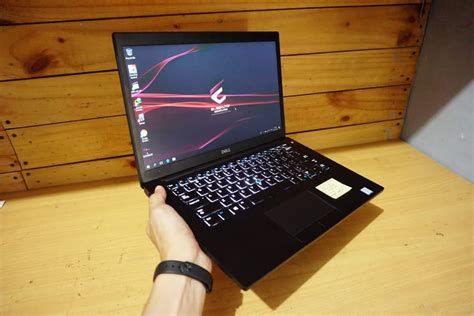Harga Keyboard Laptop Merk Dell jual laptop dell latitude 7490 i5 black eksekutif