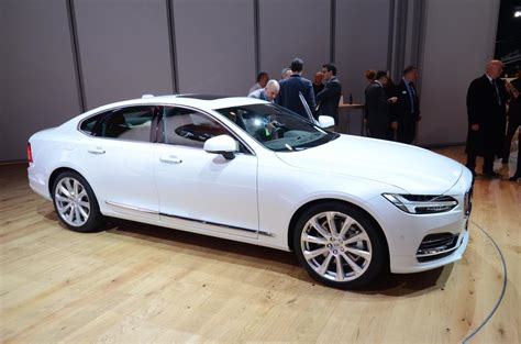 Volvo S90 T8 Twin Engine At 2016 Naias  Photos &videos