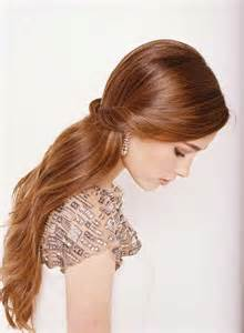 Simple Wedding Hairstyle Half-Up