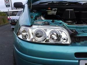 Technical  Mk1 Punto Angel Halo Headlight Problem   Help
