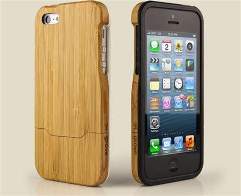 prachtige bamboe cases voor de iphone