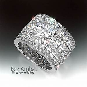 wide wedding rings with diamonds rscmloqqr jewelry ideas With thick band wedding rings