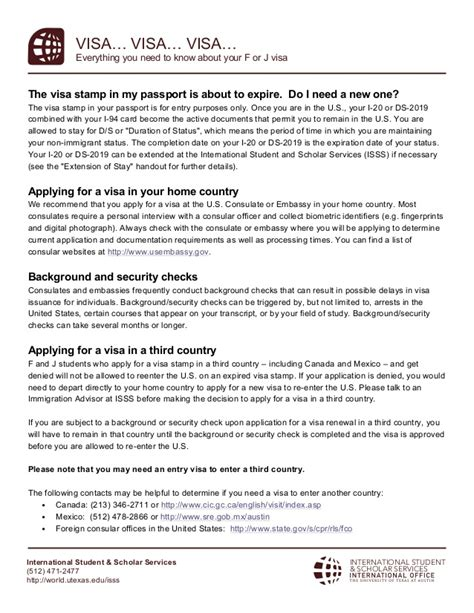 faqs  visa renewal  expired visa stamping