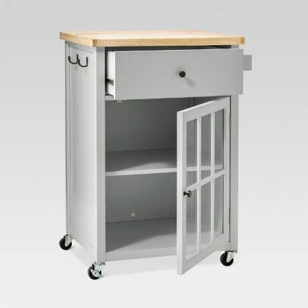 target kitchen island cart windham wood top kitchen cart threshold target