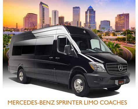 Coach Limo Service by Ta Limo Sprinter Coach Service Ta