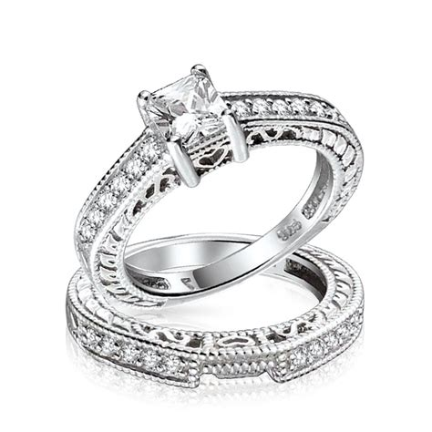 075ct (5mm) Cz Sterling Silver Wedding Engagement Ring Set. Iced Out Wedding Rings. Understated Engagement Rings. Bennifer Engagement Rings. South Africa Couple Wedding Rings. Custom Wood Wedding Rings. Wedding Dress Wedding Rings. Quartz Wedding Rings. Oval Halo Engagement Rings