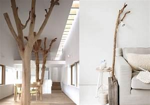 Arbre En Bois Deco : 20 inspirations pour mettre un arbre dans la maison joli ~ Premium-room.com Idées de Décoration
