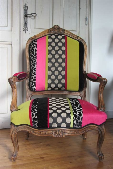 refection fauteuil louis xv retapisser un fauteuil tapissier 224 bohars ideas de decoraci 243 n patchwork chair